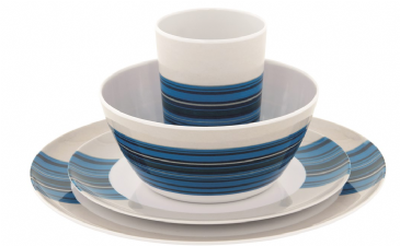 Outwell Blossom Picnic Set 2 Persons Columbine Blue